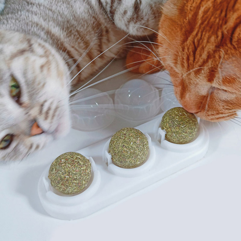 Cat Nip Sugar Candy Toy Healthy Cat Snacks Pet Product Nutrition Energy Ball Cat Kitten Playing Supplies Pet Accessories