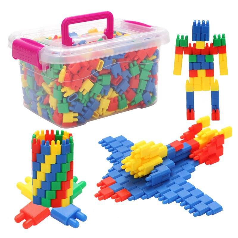 Blocs de construction boules de roquettes à bricolage 300/400/520/850/1201 pièces, jouets de combat à insérer pour enfants, jouets éducatifs