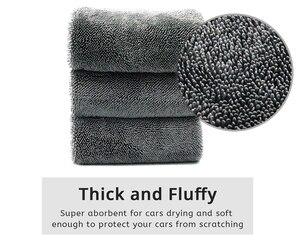 Image 2 - Mikrofibra twistcar ręcznik do mycia profesjonalne ściereczki do czyszczenia osuszania samochodowe ręczniki do mycia samochodów polerowanie woskowanie Detailing