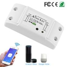 Interruptor inteligente de controle remoto, interruptor de controle remoto elétrico para aparelhos domésticos compatível com alexa diy sua casa via iphone android app