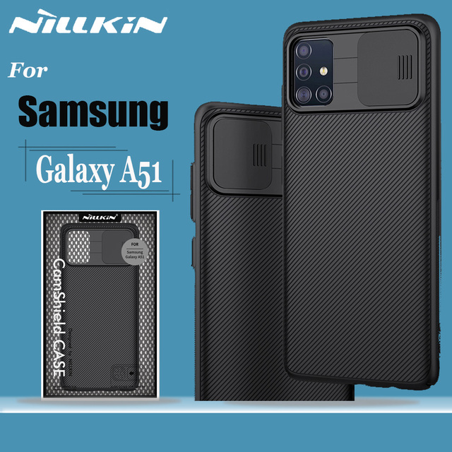 for Samsung Galaxy A51 A71 Case NILLKIN CamShield Case Slide Camera Cover Protect Privacy Classic Back Cover For Samsung A51 A71