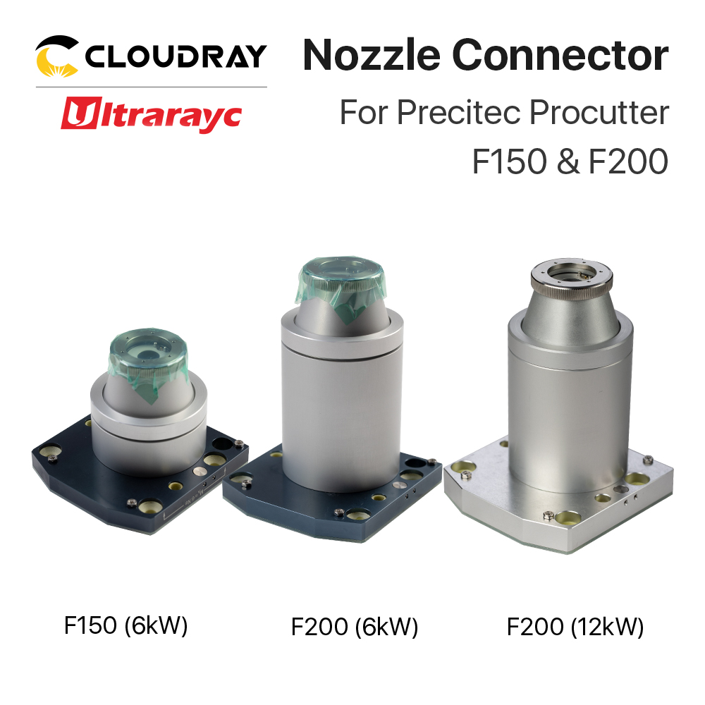 Ultrarayc Nozzle Connector 6KW & 12 KW Optional For Precitec Procutter F150 & F200 For Fiber Cutting Machine