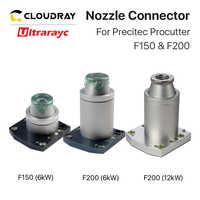 Ultrarayc Nozzle Connector 6KW & 12 KW Optional for Precitec Procutter F150 & F200 for Fiber Cutting Machine