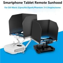 For DJI Drone Remote Control Monitor Sunshade Hood Smartphon