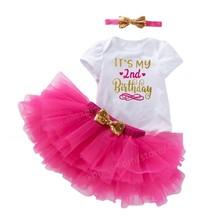 Для маленьких девочек до 2 лет милое платье 2nd во-вторых, праздничный наряд для дня рождения для девочек; Платье для малышей; Летняя одежда дл...