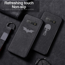 Luxury Batman Phone Case For Samsung Galaxy S20 S10 e 5G S9 S8 Plus Note 10 9 8 Ultra-thin Car Leather Cover Coque