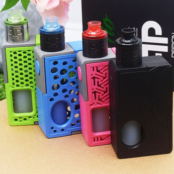 18650 mod QP Design Nio RDA Vape Forward VaporFlask Stout Box Mod Output  TC/VW Mode VS Voopoo Drag 2 Vape Mod E-Cigarette original ijoy 225w output diamond mini tc box mod with advanced tc vw modes