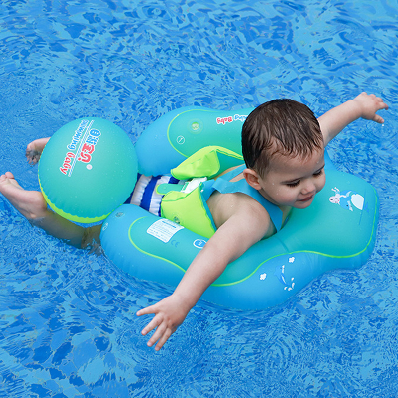 1-6 Age New Inflatable Swimming Ring Baby Bath Swimming Circle Infant Water Ring Swim Pool Float For Child