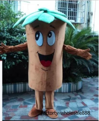 Newly Cute Adult Cartoon Tree Custom Mascot Costume Cos halloween Party Dress Unisex Cosplay Hallowen Gift