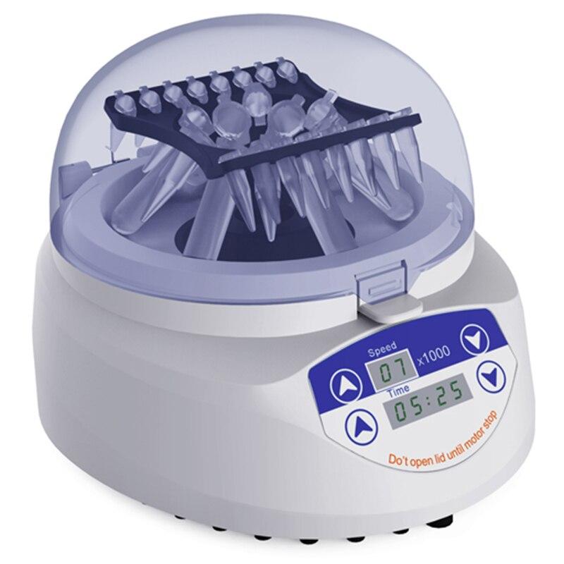 Mini centrifugadora tres en uno 4000 6000 7000 rpm para 0,2 ml 0,5 ml 1,5 ml 2ml tubo centrífugo