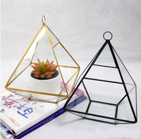 Tabletop Terrarium Geometric Glass Box Pot Air Plant Planter Succulent glass flower room indoor Decoration