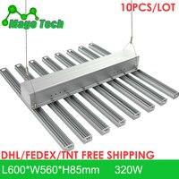 10pcs/lot 320W LED Grow Light Heatsink Grow Strip Light Aluminum Heat Sink 0.6M Grow Lighting Heatsink Only