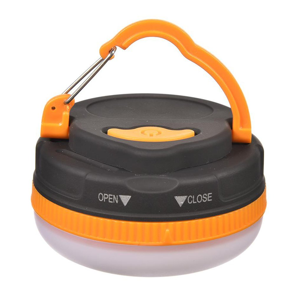2x Ultra Bringt LED Portable Camping Torch Lantern Outdoor Night Light Tent Lamp