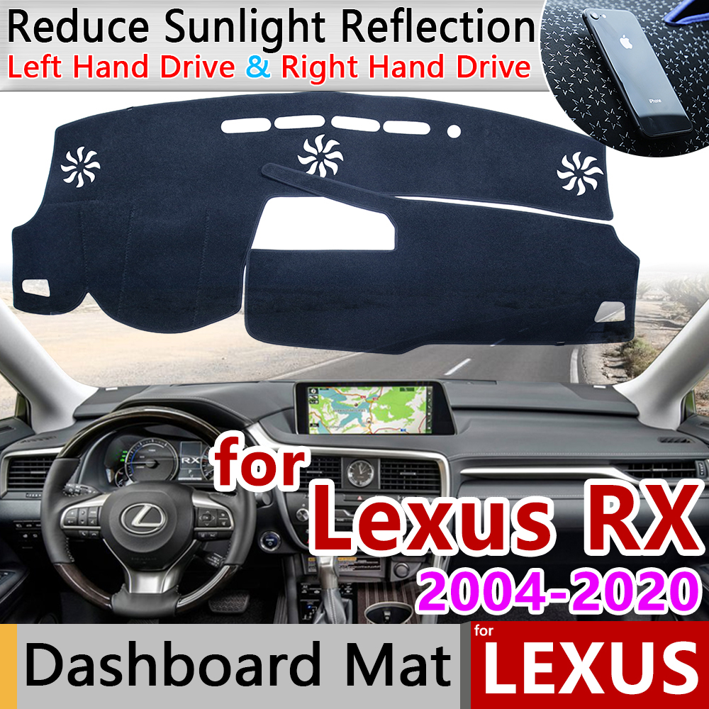 for <font><b>Lexus</b></font> RX 2004~2020 RX300 RX330 RX350 RX270 <font><b>RX200t</b></font> RX450h 350 Anti-Slip Mat Dashboard Cover Pad Sunshade Dashmat Accessories image