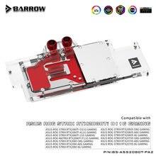 Barrow wodny blok chłodzący pełne pokrycie karty graficznej, dla ASUS STRIX RTX2080Ti O11G/A11G,RTX2080/2080S/2070S. BS-ASS2080T-PA2