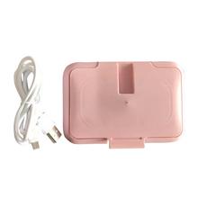 Przenośne chusteczki grzejniki grzejniki domowe termostat chusteczki nawilżane cieplej ciepło dla dziecka kontrola temperatury w gospodarstwie domowym tanie tanio CN (pochodzenie) PP ABS 2 2V 10 minutes