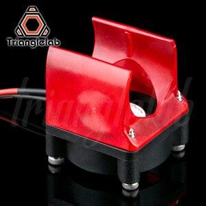 Image 5 - Trianglelab V6 cuivre plaqué Hotend haute température buse chaleur bloc dissipateur thermique pour PETG PEEK PEI ABS Fiber de carbone
