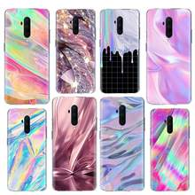 Colorful Aurora Gradient Case for Oneplus 8 Nord 7T Pro 5G Z 7 6T 6 Silicone Coque Phone Covers for Oneplus8 OneplusZ Cover(China)