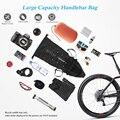 2017 NEW MTB della bici del sacchetto di riciclaggio della bicicletta saddle tail sedile posteriore impermeabile borse di Stoccaggio accessori di alta-capacità 10L