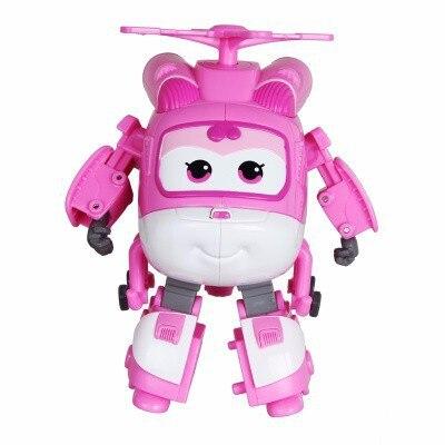 Большой! 15 см ABS Супер Крылья деформация самолет робот фигурки Супер крыло Трансформация игрушки для детей подарок Brinquedos - Цвет: No Box DIZZY