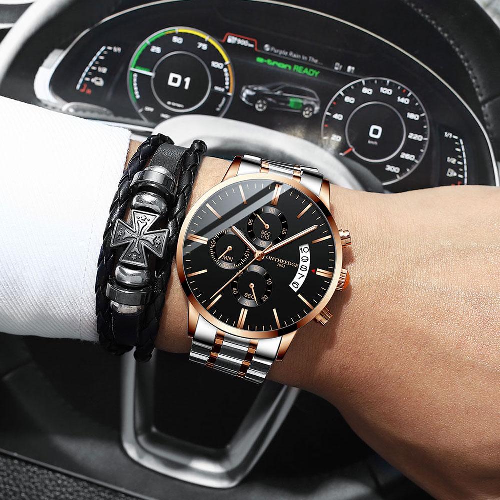 Replica Watches Men Uhren Whatch Reloges Para Hombre Wristwatch Luxury Casual Montres Homme Relog Saat Kol Erkek Relogio Zegarek