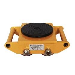 Obsługa cysterna uniwersalny obrotowy zbiornik koło stalowe do ciężarówki/gumowe koło żelazny żółw ciężki obiekt shifter