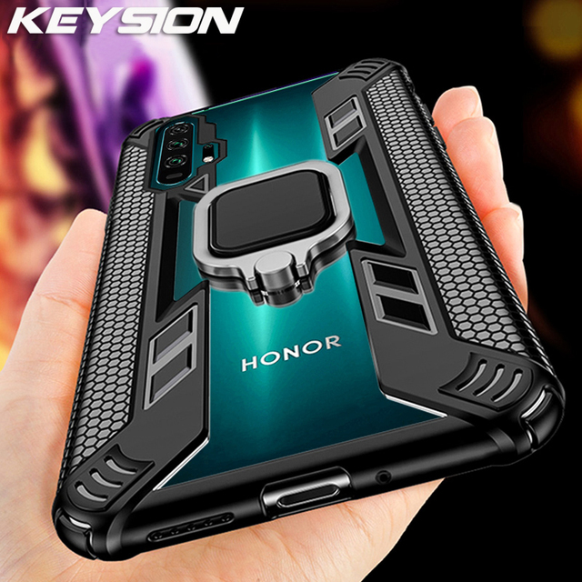 KEYSION Shockproof Case For Honor 20 Pro 10i 10 Lite 8X 8A 5T Phone Cover for Huawei Mate 30 Pro P40 P30 Lite Y6 Y7 Y9 2019 Y9S