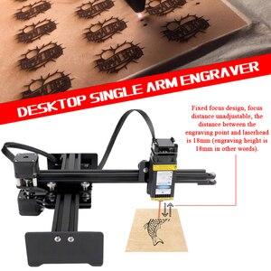 Image 2 - KKMOON graveur de bureau Portable professionnel, Machine à graver, DIY, 10000 bois, CNC mW