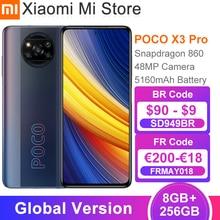 Глобальная версия POCO X3 Pro Смартфон Snapdragon 860 8 Гб Оперативная память 256 ГБ Встроенная память 120 Гц DotDisplay 5160 мА/ч, Батарея 48MP Quad AI Камера NFC
