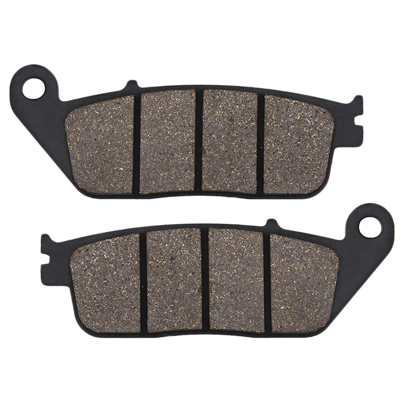 Cyleto Motorcycle Front Brake Pads for HONDA CB 400 CB400 CB400SS 2001-2005 NV400 Shadow 400 2000-2002 VRX 400 VRX400 NC33 1996 image