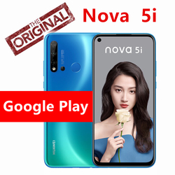 Huawei Nova 5i smartphone 6GB 128GB 4000mAh Google Play smartphone Android 9.0 24MP Quad AI Camera 6.4 inch FHD+ mobile phone