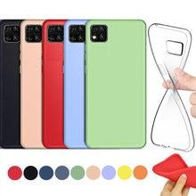 COM certeza soft case Para HUAWEI Y5P capa preto azul Vermelho Rosa verde amarelo claro capa de silicone transparente para HUAWEI Y5P caso