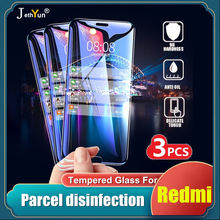 3PCS Tempered Glass For Xiaomi Redmi Note 7 8 9 pro 8T 9S 7s Protective Film for Redmi 8 8A 7 7A Screen Protector Note9 Note8