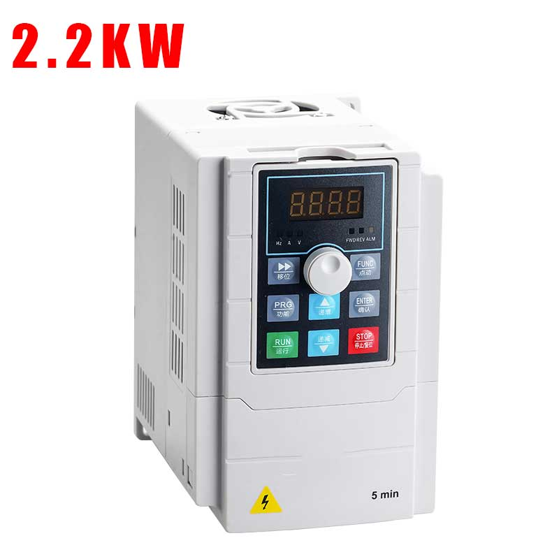 2.2KW <font><b>220V</b></font> VFD Single <font><b>Phase</b></font> input <font><b>220v</b></font> and <font><b>3</b></font> <font><b>Phase</b></font> Output <font><b>220V</b></font> Frequency Converter/Adjustable Speed Drive/Frequency <font><b>Inverter</b></font> image