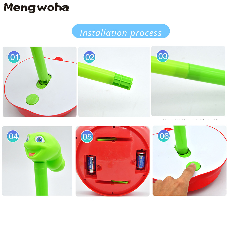 Image 5 - Funny Electrical Sway Insect ferrule Games Indoor Sport family Games Educational Toys Party Game For ChildrenParty Games   -