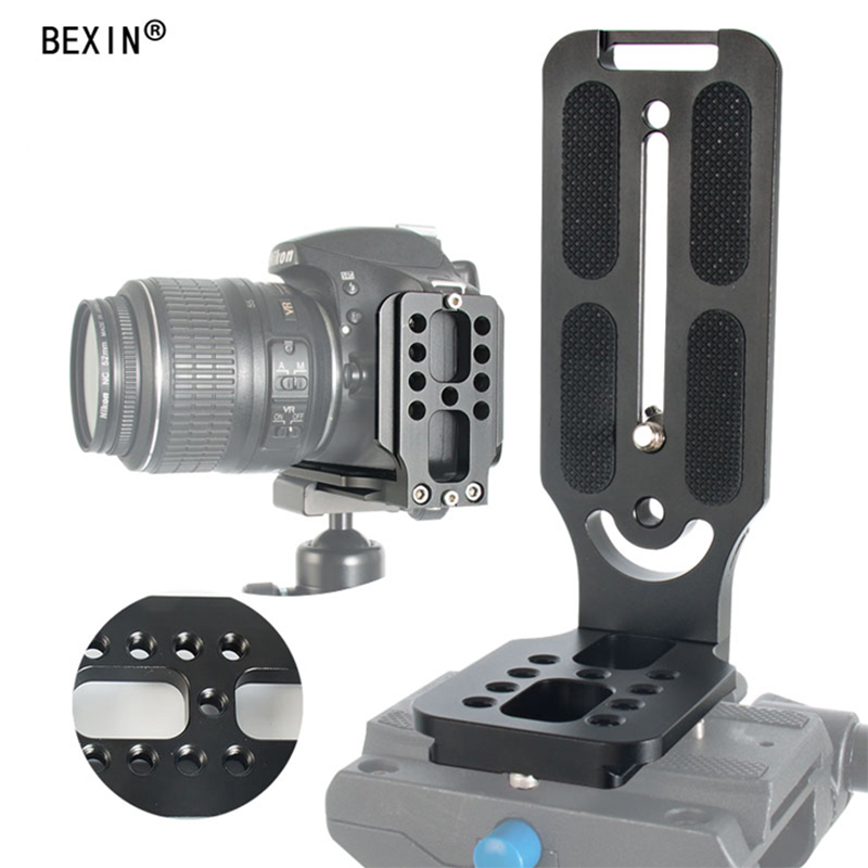 Qr60 DSLR Camera Tripod Quick Release Plate/&Clamp Mount Adapter Accessories