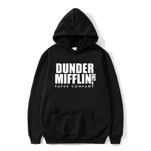 2020 The Office Sweatshirt Men/Woemn Fleece Hoodies Dunder Mifflin Paper Inc Hoodie Unisex Crewneck Moletom Feminino Hoody
