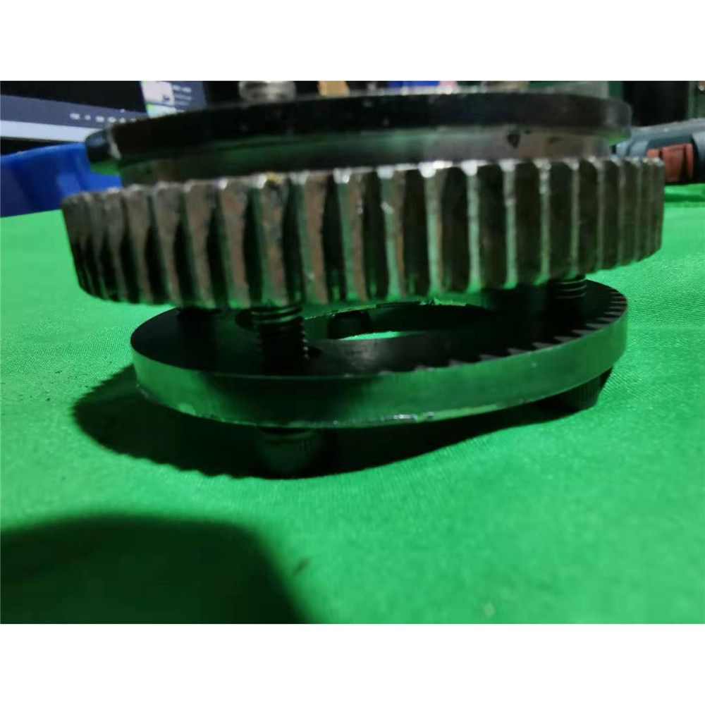 ​Support Modification Part Durable Rotary Gear Plate Slewing Gear for 1/18 Huina 580 Excavator image