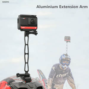 Bracket Camera-Accessories Insta360 Selfie-Extension Action Black Aluminium One-R-X-Gopro
