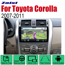 ZaiXi Android 2 Din Auto Radio For Toyota Corolla 2007~2011 Car Multimedia Player GPS Navigation System Radio Stereo zaixi android 2 din auto radio dvd for toyota camry 2007 2011 car multimedia player gps navigation system radio stereo