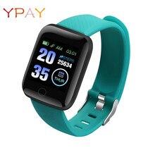 Waterproof Sports Fitness Smart Watches Men D13 Heart Rate Watch Smart Wristband Watches 116 Plus Smart Band Women Smartwatches недорого