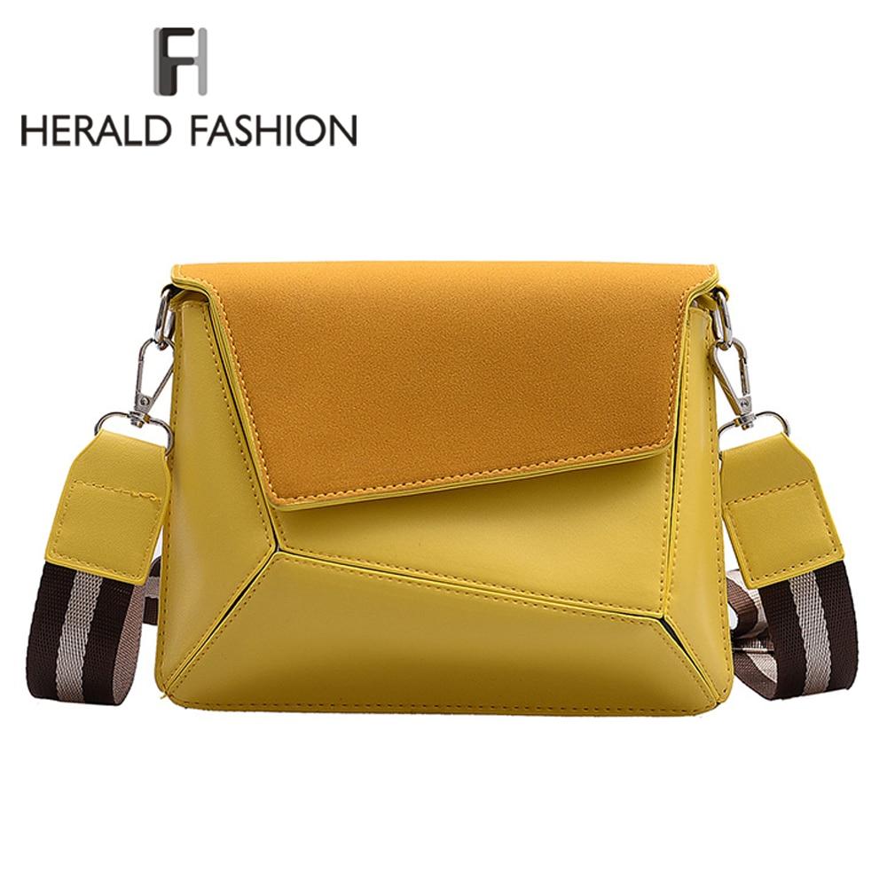 Retro Suede Patchwork Crossbody Bags For Women Messenger Bags Lady Small Flap Shoulder Bag Design Female Travel Handbag 2020