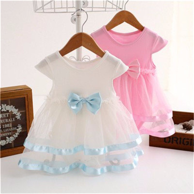 Hd3576f310bf74b8e8a5c9c830956c2eeu Girls Dress 2018 Summer Explosion Solid Color Denim Dress Cartoon Polka Dot Bow Cartoon Bunny Satchel Korean Baby Cute Dress