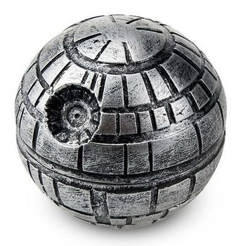3 Layers Star Wars Death Star Grinder Zinc alloy Herb Spice Crusher Smoke Grinder 50mm цена 2017