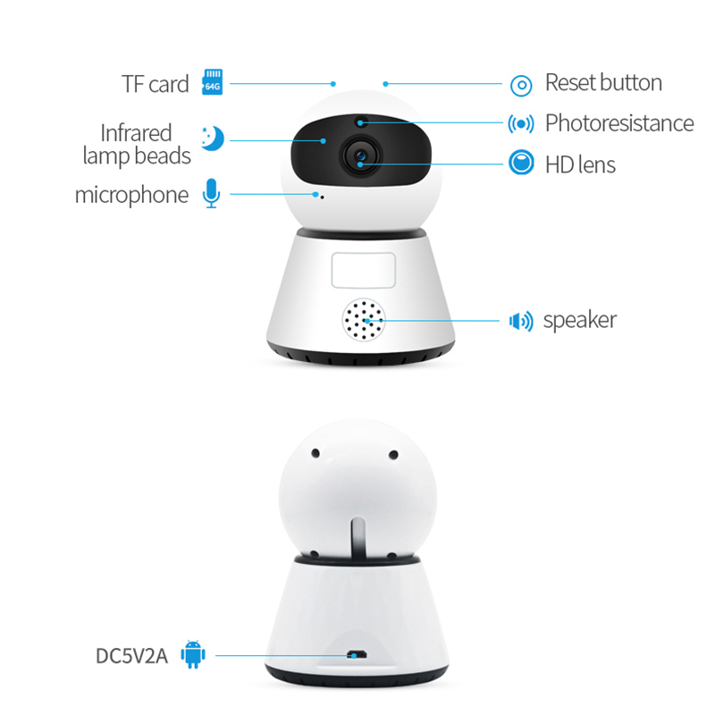 720 1080P PTZ Wireless Mini IP Camera Move Detection Infrared Night Vision Home Security Surveillance Wifi 720/1080P PTZ Wireless Mini IP Camera Move Detection Infrared Night Vision Home Security Surveillance Wifi Camera Cloud Service