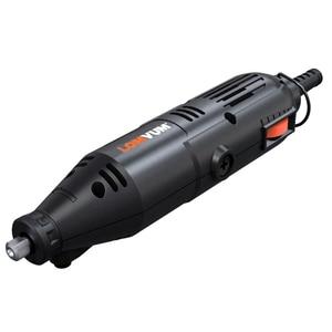 Image 5 - LOMVUM Elektrische Grinder Dremel Stil Mini Drill Rotary Werkzeuge Set 350W DIY Grinder 400W 6 Geschwindigkeit Schleif Werkzeug stecher Kit Welle