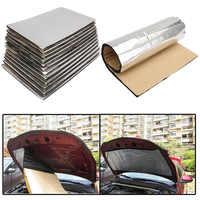 50x30cm Car Firewall Heat Insulation Shield Auto Sound Proof Mat Carpet Deadener