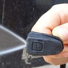 1 Набор Омыватель лобового стекла автомобилей Щетка распылитель воды сопло Универсальный черный пластиковый вентилятор в форме регулируем...
