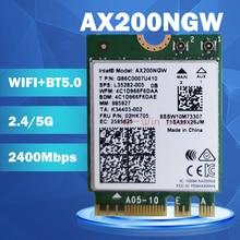 Wireless-Adapter Network-Card NGFF Bluetooth Intel Wifi AX200NGW Wi-Fi 2400mbps