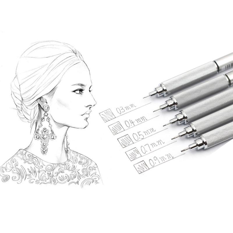 Image 2 - Mitsubishi Uni Mechanical Pencil Metal body pen M3/M4/M5/M7/M9 1010 0.3/0.4/0.5/0.7/0.9MM Writing Supplies Office & Schoolmechanical penciluni mechanical pencilmechanical pencil metal -